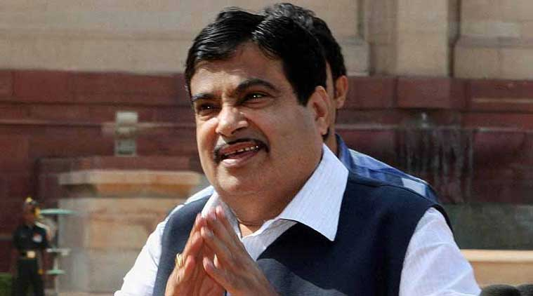 On taking support of NCP-Congress after the elections as an expediency, Gadkari said, 'We will get majority. No ifs and buts.' (Source: PTI)