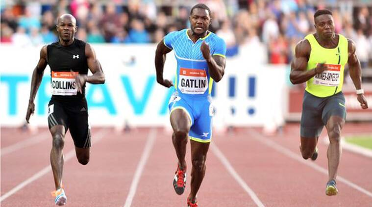 At the age of 32, Gatlin has set his personal bests in both the 100 and the 200. While some suspect his timings, others believe he was always good enough to run so fast even without the drugs (Source: AP)