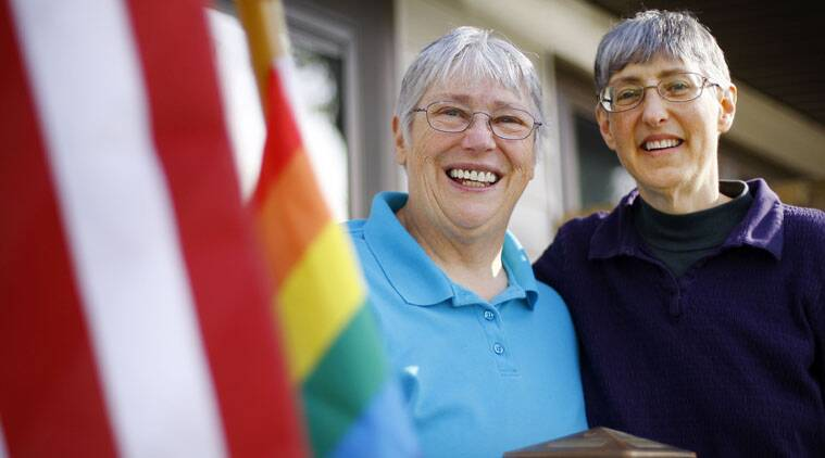 The US government announced on Saturday it would recognise same sex marriages in six more states.