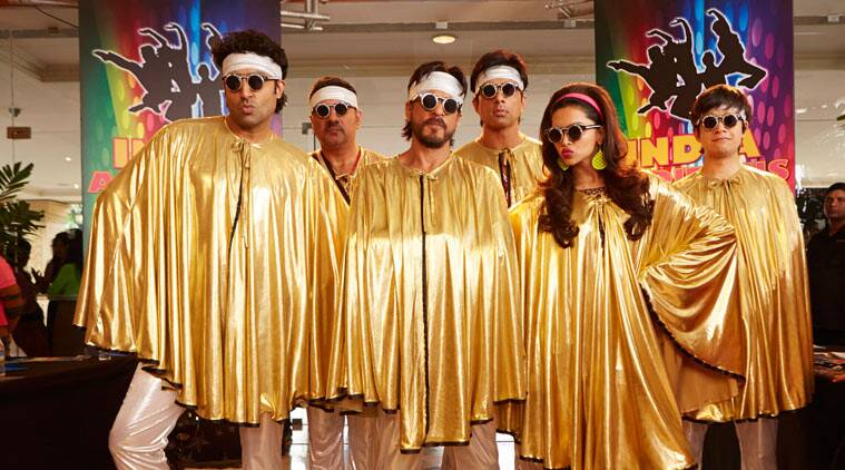 'Happy New Year' review: It turns out to be a cross between an `Oceans 11/12' and 'Flashdance' and a whole bunch of movies that topline Mera Bharat Mahan sentiments.
