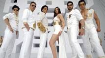 'Happy New Year': Shah Rukh, Deepika, Abhishek go 'Sharabi' in new song