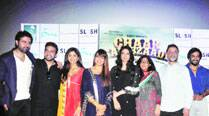 Left-Right: Harman Baweja,  Raj Kundra, Shilpa Shetty, Bipasha Basu, Tabu, Pammi Baweja, Harry Baweja and R. Madhavan