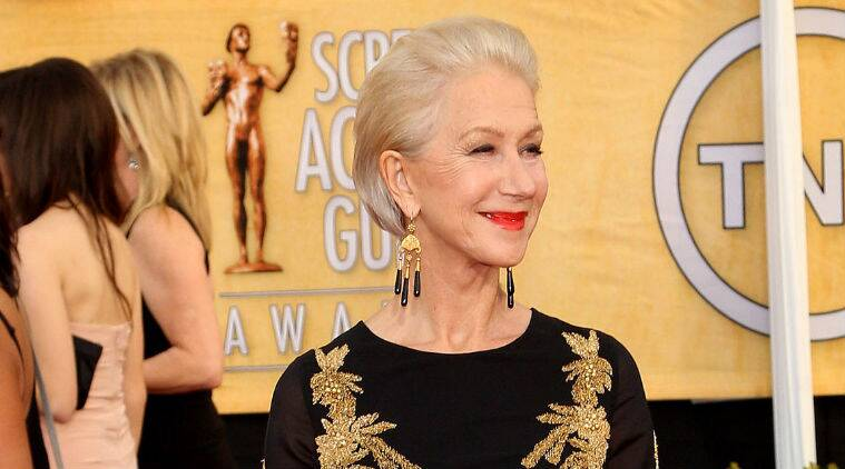 Helen Mirren: I am not gorgeous and I never was, but I was always OK looking and I'm keen to stay that way. (Source: AP)