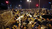 Hong Kong police warns protesters against occupying buildings