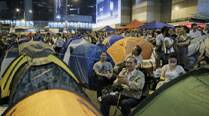 No let up in Hong Kong protests as pro-demoracy protesters plan march after fruitless talks with government
