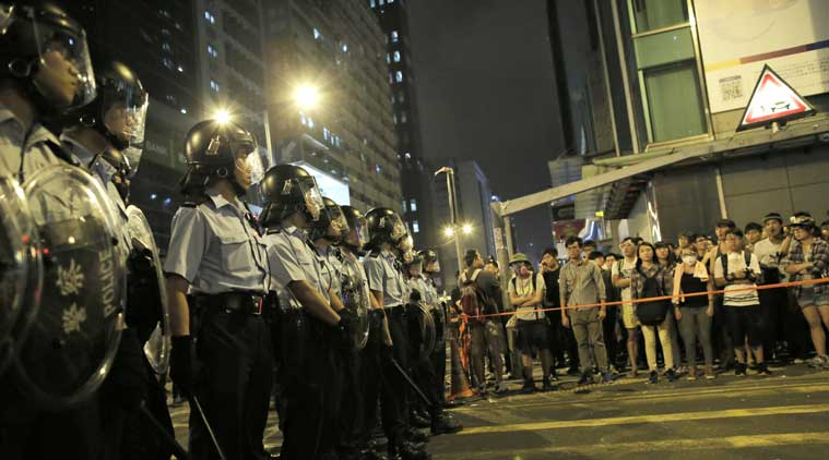 20 injured in new Hong Kong protest violence