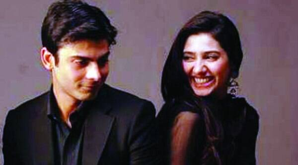 Fawad Khan and Mahira Khan  share a light moment in Humsafar