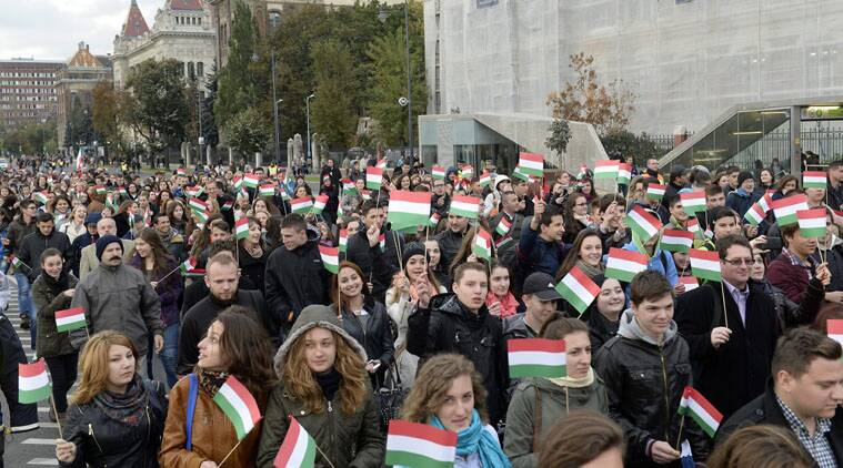 Hungary, Hungary EU, Stop Brussels, Hungary anti-EU campaign, Hungary EU questionnaire, EU questionnaire, Hungary news, world news, latest news, indian express