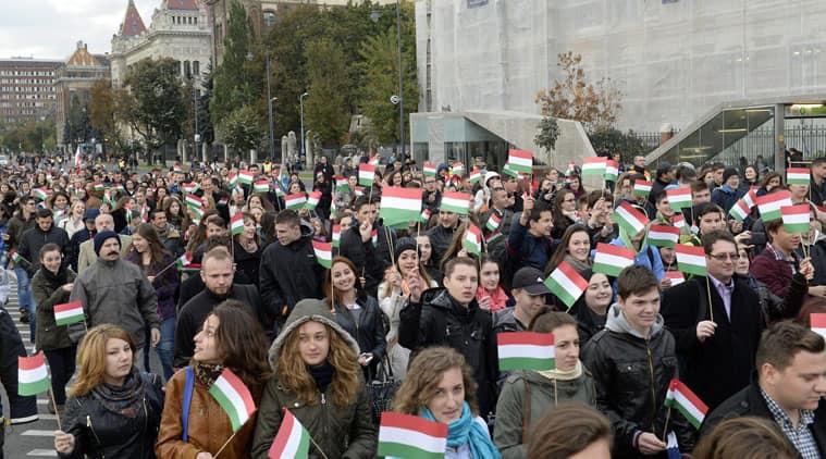 Hungary, Hungary EU, Stop Brussels, Hungary anti-EU campaign, Hungary EU questionnaire, EU questionnaire, Hungary news, world news, latest news, indian express