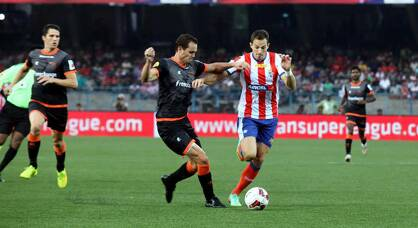 League leaders Atletico de Kolkata held at home by determined Delhi Dynamos