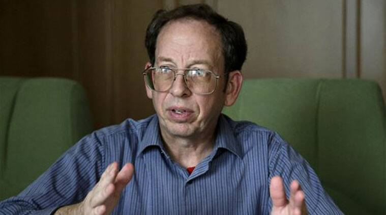 In this Sept. 1, 2014, file photo, Jeffrey Fowle, an American detained in North Korea speaks to the Associated Press in Pyongyang, North Korea. (Source: AP)