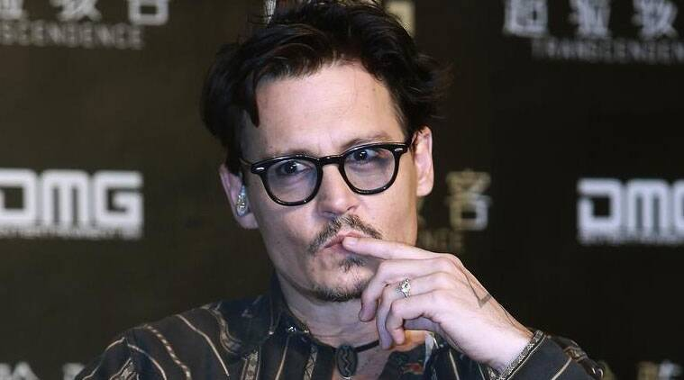 Johnny Depp missed filming re-shoots for his new movie 'Mortdecai' this week after falling sick. (Source: Reuters)