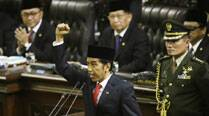 'Commoner' Joko Widodo sworn in as Indonesia's seventh president