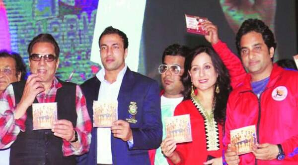 Dharmendra releases the audio CD of Badlapur Boys