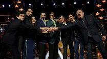 'Happy New Year' team shoots KBC's Diwali special