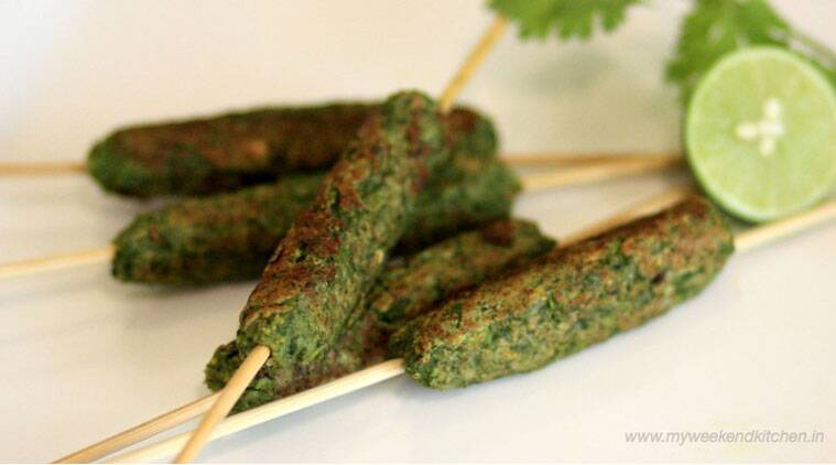 Express recipe: How to make Hara Bhara Kebab on a stick