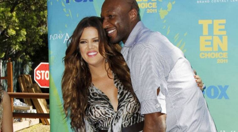 Reality TV star Khloe Kardashian's estranged husband Lamar Odom reportedly sends her flowers on a regular basis to win her back. (Source: Reuters)