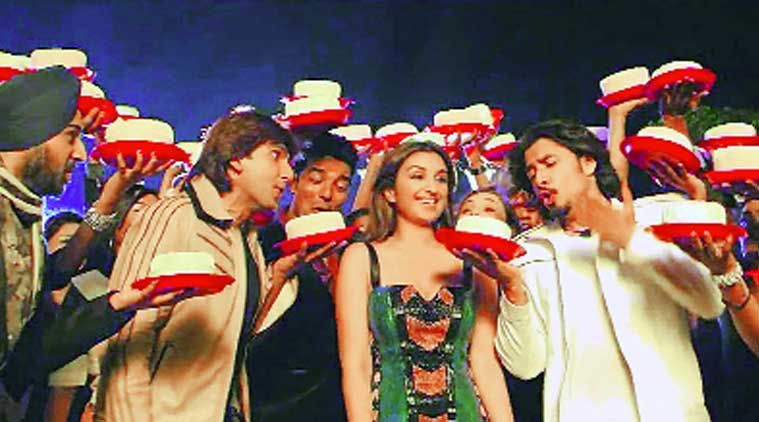 A song sequence from Kill Dil