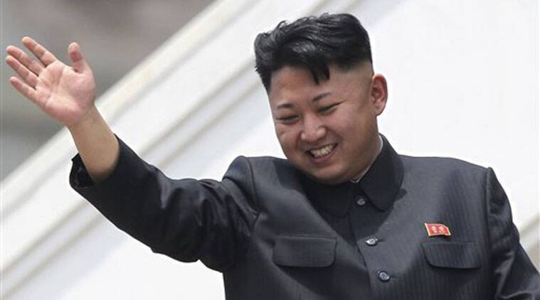 In this July 27, 2013 file photo, North Korean leader Kim Jong Un waves to war veterans during a mass military parade celebrating the 60th anniversary of the Korean War armistice in Pyongyang, North Korea. (Source: AP)