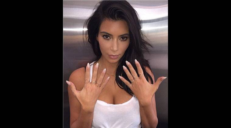 Reality TV star Kim Kardashian is set to release a book of 2000 selfies, titled 'Selfish' on this December. (Source: Instagram)