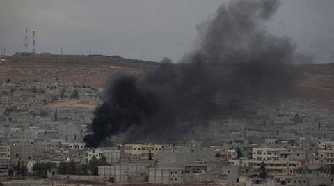 US airdrops ammunition, weapons for Kurds in Syria's Kobani