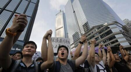 Hong Kong chief says 'better to caste vote than watch TV'