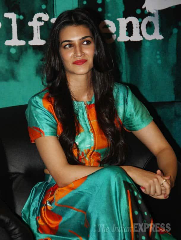 Girls about town: Kriti Sanon, Juhi Chawla