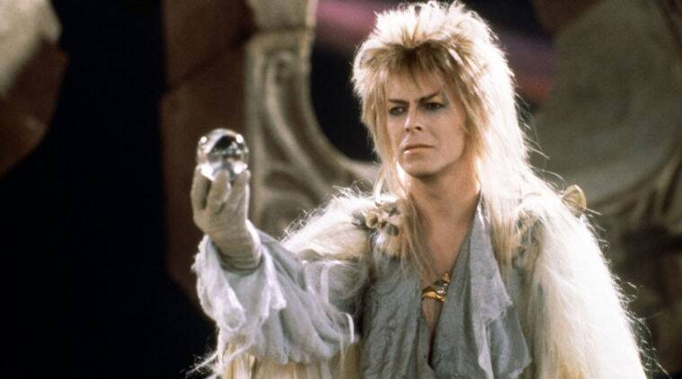 'Labyrinth' stars David Bowie as Jareth the Goblin King and a young Jennifer Connelly as Sarah.