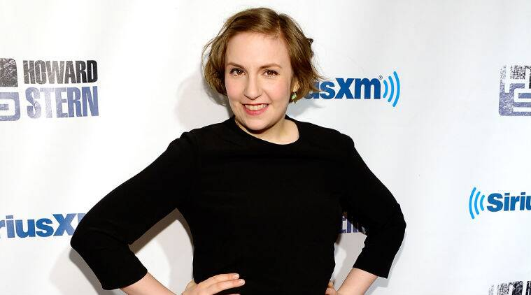Lena Dunham announced the news at the New York Film Festival. (Source: AP)