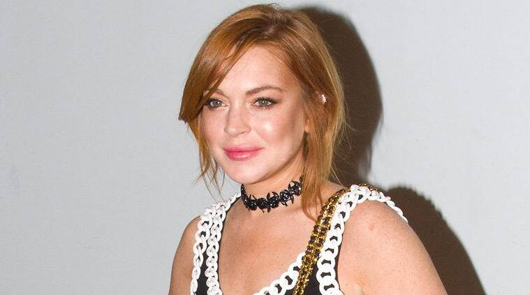 Lindsay Lohan: I would never have got behind the wheel of a car after having a drink. (Source: AP)