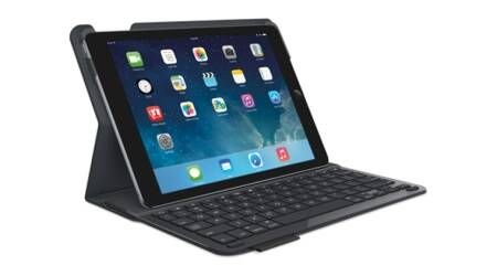 Logitech launches protective case cum keypad for iPad Air 2