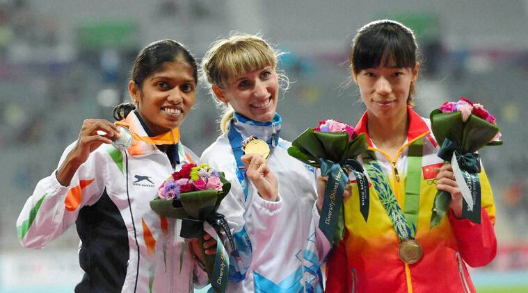 Tintu clocked her season best time of 1:59.19 seconds but it wasn't good enough to win her a gold medal. (Source: PTI)