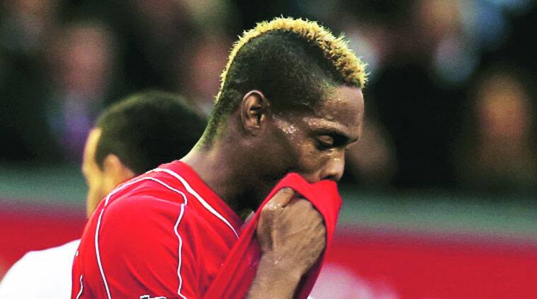 Balotelli misfired again as Liverpool were held by Hull.  (Source: Reuters photo)