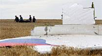 Six coffins of MH17 remains flown out ofUkraine