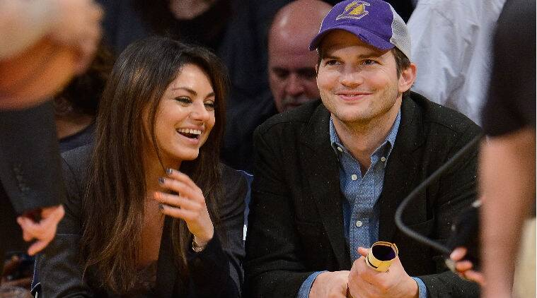 Ashton Kutcher started dating Mila Kunis after finalising his divorce from actress Demi Moore. (Source: Reuters)