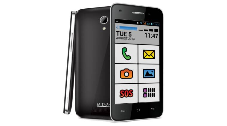 Mitashi launches Android KitKat phone for senior citizens