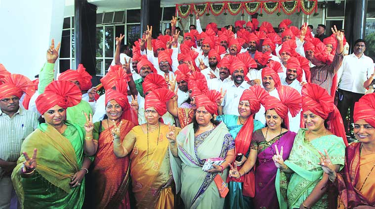 The MLAs are all set to draw people's attention towards their fancy attire (Source: Express photo)