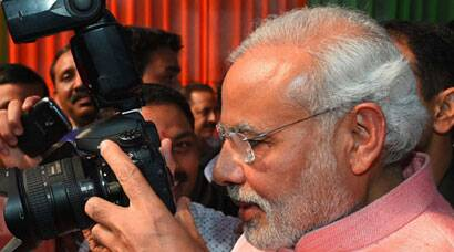 PM Narendra Modi's first media outreach; Diwali Milan
