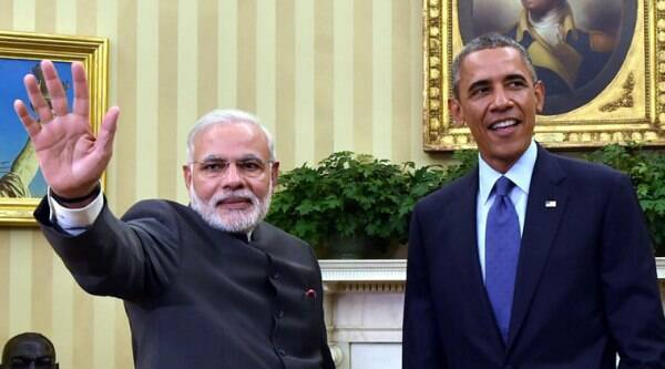 Modi met Obama at the White House this week and held talks on strengthening the bilateral ties. (Source: AP photo)