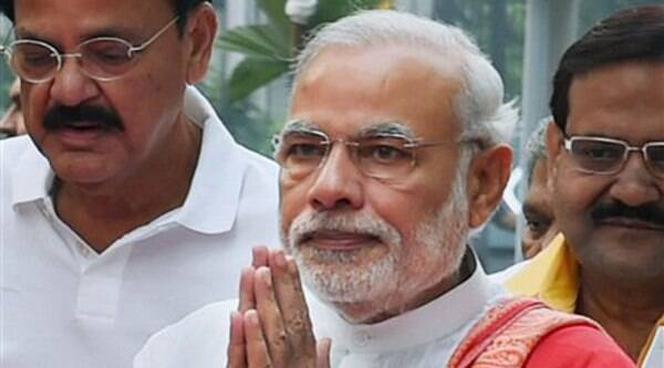 Narendra Modi is likely to be camping in  his home state for at least three days in January 2015.