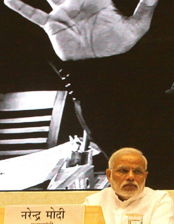Prime Minister Narendra Modi launches new labour schemes