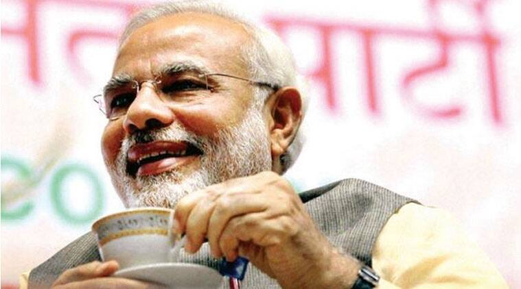 PM Narendra Modi's meeting with journalists is being termed Diwali Milan. (Source: PTI photo)