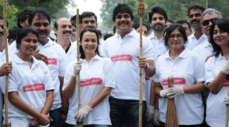 Actor Akkineni Nagarjuna, who was chosen as one of the ambassadors of Prime Minister Narendra Modi's Swachh Bharat Abhiyaan, has appreciated a short film made by Telugu comedian Ambati Srinivas on the campaign.