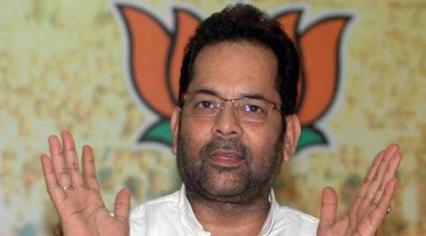 BJP leader Naqvi was inducted into Prime Minister Narendra Modi's council of ministers on November 9 as minister of state for minority affairs and parliamentary affairs.