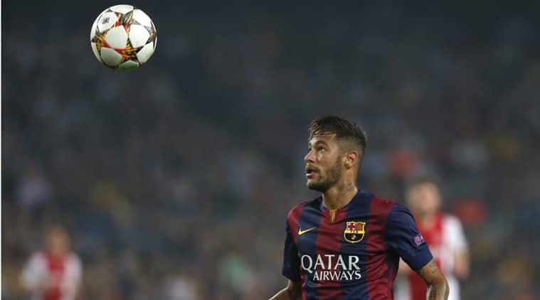 Barcelona said it paid 57.1 million euros ( million) for the Brazil striker. (Source: AP)