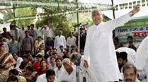 With Lalu attacking JD(U)'s 'weak' governance and Manjhi playing Dalit card, Nitish goes back to yatra politics