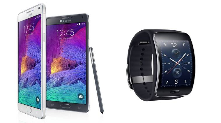 Samsung Galaxy Note 4 launched at Rs 58,300, Gear S at Rs