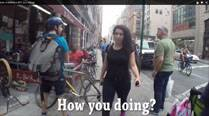 Watch: '10 hours of walking in NYC' harassment YouTube video gets over 8 million likes in 2 days