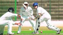 Run-machine Naman Ojha finishes on 217