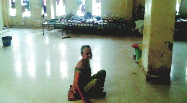 The Indian Express visits the shelter home and found the women living in filthy conditions, in rooms stinking with urine and defecation around their beds, rats gnawing away at left over food and cockroaches swarming all over the place.